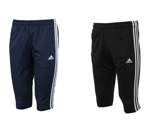 Adidas ATH 3S 34 Pants BI4516 BI4515 Soccer Football Training Climalite Shorts