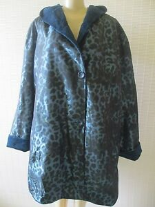 Jacket Xs Reversible Faux Print Størrelse Animal Hooded Nwt Basso Fur Dennis 0wAqBZHx