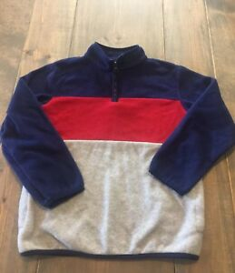 Crazy 8 Boys Half Zip Pullover Sweater