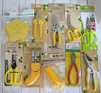 Kit Oasis Floristería//floristería Tools-Tijeras Cortadores vástago stripper