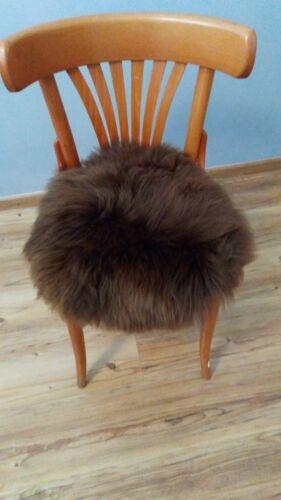 Fur Chair Pad Seat Cushion Seat Pillow Cushion Fur Cushion Lambskin Sheepskin XL