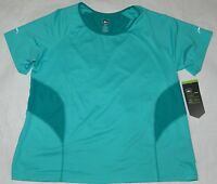 Womens Teal Sport Exercise T Shirt = Rei = Size 2x =