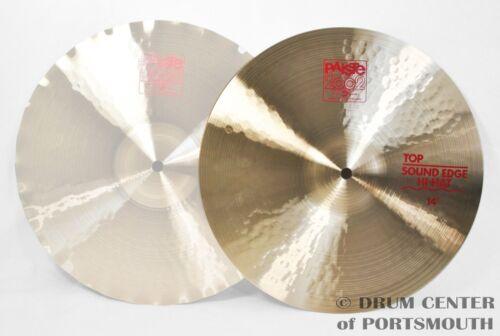 "CY0001063214 Paiste 2002 Sound Edge Hi Hat Cymbal Top 14/"""