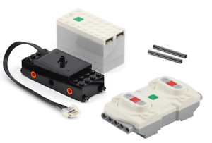 LEGO Train Motor Powered Up Battery Box   Receiver Remote Winter Train 10254
