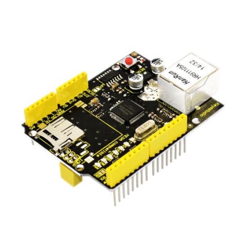 KEYESTUDIO W5100 Network Shield Expansion Board Ethernet Module for Arduino MEGA