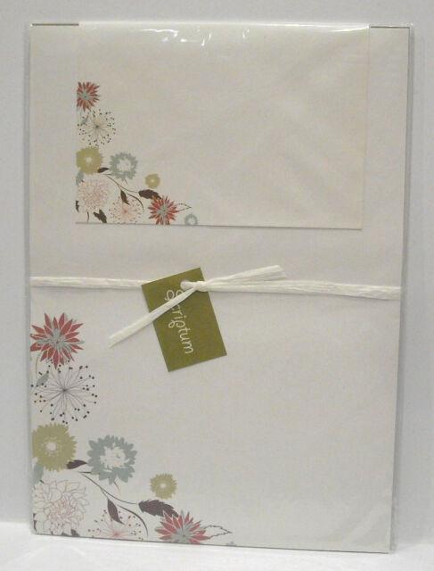 Motiv Briefpapier Blüten Geschenk-Set 12 Bogen + 12 Umschläge Venceremos 50250