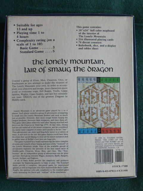 The Lonely Mountain by I.C.E. (COMPLETE) Middle Earth Earth Earth  Hobbit LOTR Tolkien ce6a63
