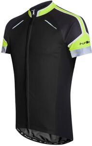 Funkier Artena Pro Rider Mens Short Sleeve Cycling Jersey - Black ... 8d566a32a