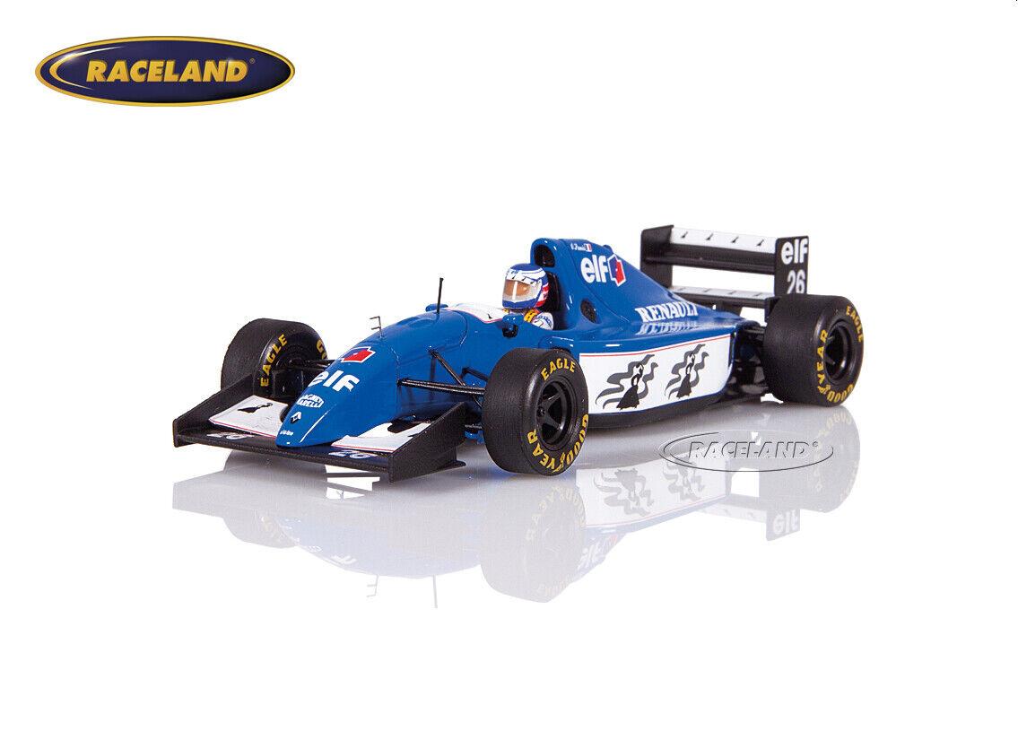 LIGIER js39b RENAULT v10 f1 2 °  GP Allemagne 1994 Olivier Panis, SPARK 1 43  autorisation de vente de la marque