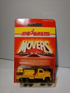 1990-Majorette-Movers-283-Crane-Truck-MOC-BP-Made-in-France