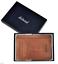 Leather Zippered Coin Small Zip Bag Purse Pouch Change Holder Men Women Wallet