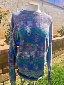 Vaporwave Christmas Sweater.Details About Vintage 80s 90s Fresh Prince Ugly Christmas Sweater Vaporwave Cosby Mens Large