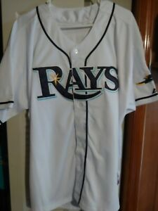 separation shoes 3b4fe e26fa Details about Evan Longoria Tampa Bay Rays Jersey Size 54 XL