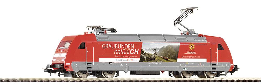 Piko 59456 gasóleo br 101 swisstravel grigiobünden DB AG Spur h0