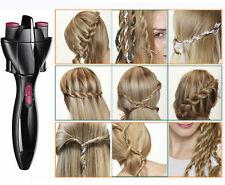 Piastra spazzola rotante per treccia capelli.Crea trecce perfette,treccine,coda