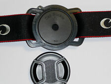 43mm 52mm 55mm Lens Cap Anti-losing Camera Buckle for All Cameras