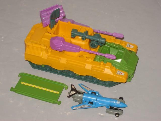 G1 G1 G1 TRANSFORMER MICROMASTER ANTI AIRCRAFT BASE COMPLETE LOT CLEANED 936fa6