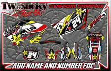 SUZUKI RMZ 125/150/250/450  MOTOCROSS MX GRAPHICS STICKERS   ALL YEARS