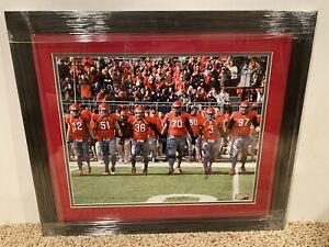 2010-Ohio-State-Buckeyes-Senior-Captains-signed-16x20-FRAMED-photo-vs-UM-OSU