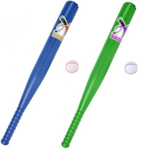 2x Enfants Baseball-Set avec 1 Ball Batte de baseball 53 cm Enfants Baseball 2 couleurs