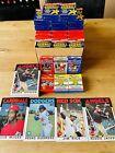 Huge Lot of Vintage Baseball and Basketball cards packs, Some Sealed!