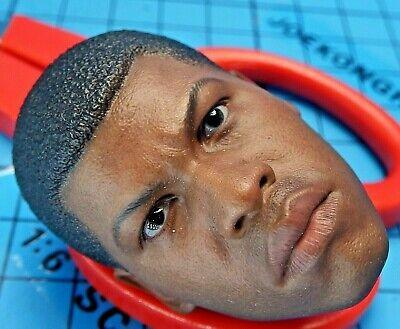 Finn John Boyega 1//6 CUSTOM HEAD SCULPT en stock pour Hot Toys Star Wars U.S.A.