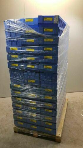 90 Stück SSI Schäfer Regalkästen Sichtlagerkasten Stapelbox Lagerkasten 58x24x11