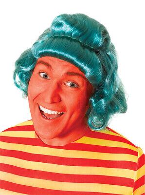 100% Vero Parrucca Verde Umpa Lumpa Charlie E La Fabbrica Di Cioccolato Willy Wonker Costume-mostra Il Titolo Originale I Consumatori Prima