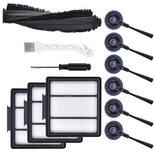 Filter Brush For Shark ION Robot RV700,RV750/_N RV850,RV850BRN Vacuum Cleaner Kit