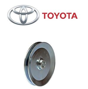 Image is loading NEW-Fits-Toyota-4Runner-Power-Steering-Pump-Pulley-