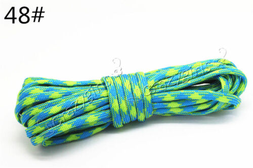 5//20//100M 7-Strand Nylon DIY Survival Outdoor Parachute Cord Lanyard Rope 4mm