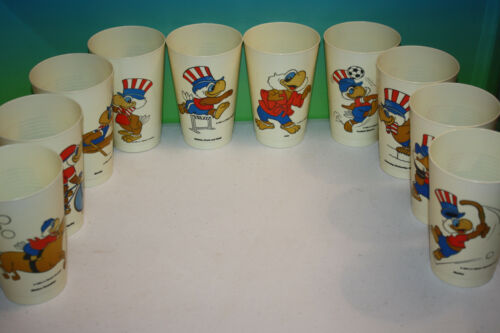 1984 Olympics Los Angeles California Souvenir Plastic Event Cups RARE MANY EVENT