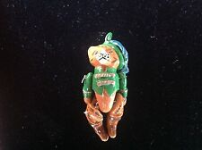 Vintage PUSS IN BOOTS Enamel Charm  Moveable Pendant