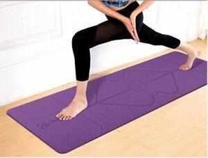 Tappetino-Fitness-Yoga-Palestra-Professional-183-x-61-cm-Yoga-Attivita-Esercizi