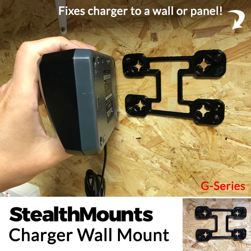 5 StealthMounts Wall Mount - Makita 18v G Series Battery Charger G-Series DC18WA
