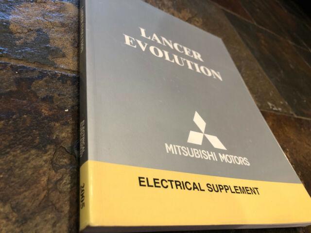 2005 Mitsubishi Lancer Evolution Electrical Wiring
