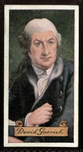 Tobacco-Card-Carreras-CELEBRITIES-OF-BRITISH-HISTORY-1935-David-Garrick-27