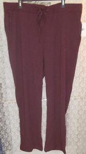 727bb1ab40 UGG Penny Lounge Exercise Pants Fleece Lined Plus 3X Purple Port ...