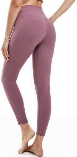 Women/'s High Waisted Yoga Pants Stretch Workout Running Yoga Leggings Pockets