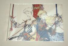 Final Fantasy V 5 Yoshitaka Amano Illustration Clear File Folder Bartz Faris