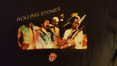 NICE 2002 ROLLING STONES FORTY LICKS CONCERT T SHIRT XL NEVER WORN