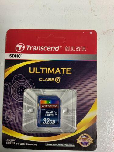 32 GB SDHC Card Transend