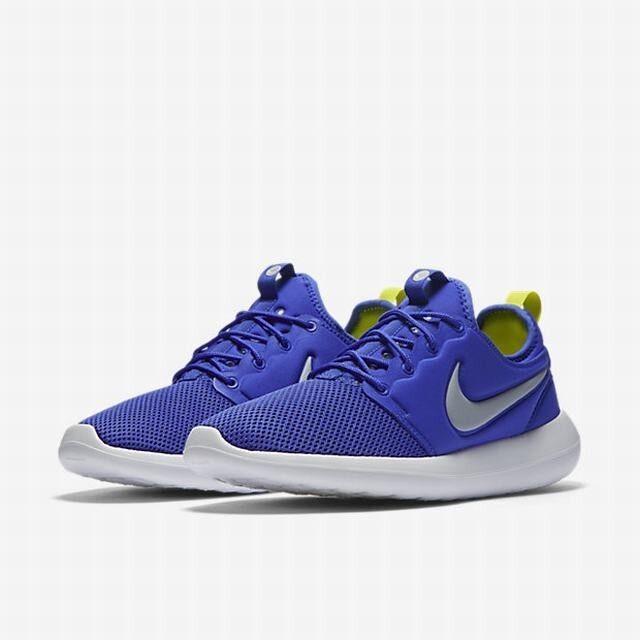 Nike Roshe Two 2 Rosherun Paramount Blue uomo Running Scarpe Shoes Sneakers 844656 400 Scarpe Running classiche da uomo de28ea