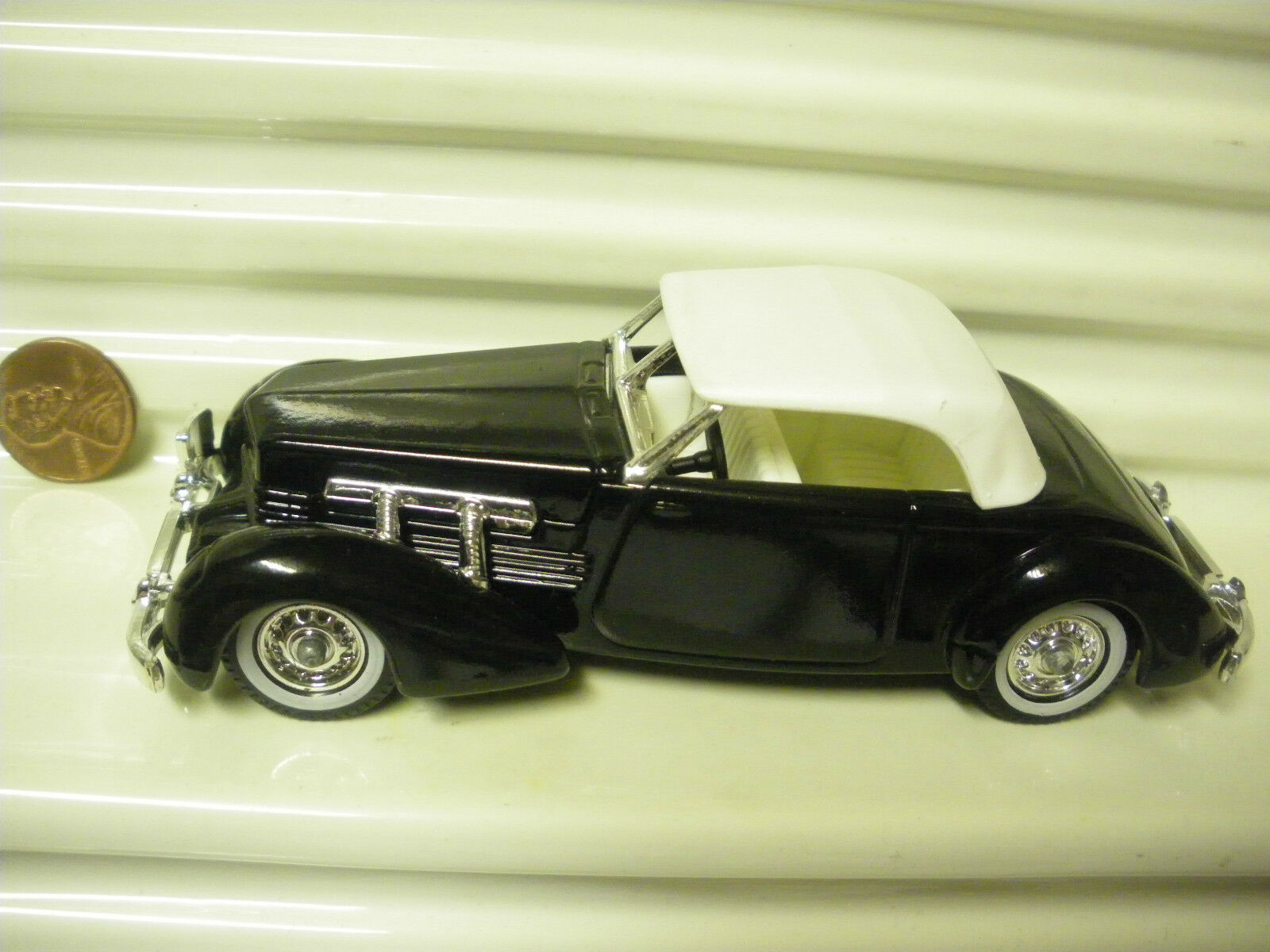 Lesney Matchbox Models Of Yesteryear 2018 Y18A 1937 Negro Cable 812 Como Nuevo Sin Caja