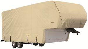 Goldline-RV-Trailer-5th-Wheel-Toy-Hauler-Cover-Fits-34-36-Foot-Tan