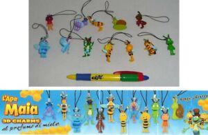 Set-12-Figuras-Ape-Maia-Colgantes-Originales-Maja-Maya-Rai-Yoyo-TV-Willy-Nuevo