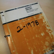 Case W14 Front End Wheel Loader Parts Manual Book Catalog List Spare Rubber Tire