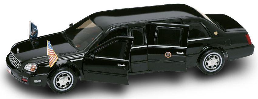 Cadillac DeVille bill clinton 2001 presidential series 1 24 Model Lucky la cast