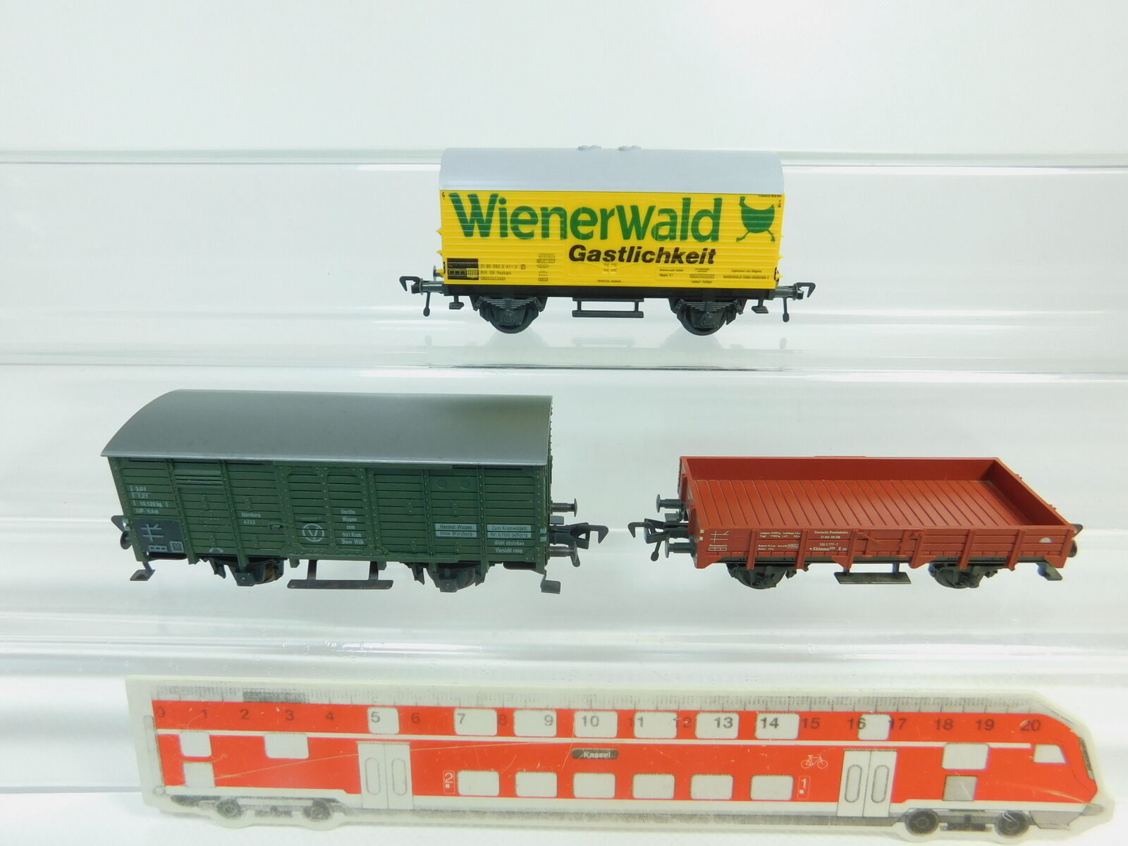 BN488-0,5 x Fleischmann H0 Dc Carro Merci Db   5041 Bosco Viennese+
