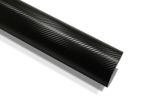 Schwarze 3D Carbonfolie Autofolie /& Luftkanäle 152 cm x 500 cm